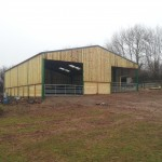 Agricultural shed 40ft x 60ft.