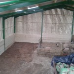 Agricultural shed completed