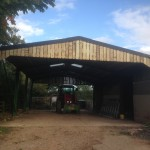 Agricultural shed exstemsion