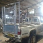 Beaters truck cage and door