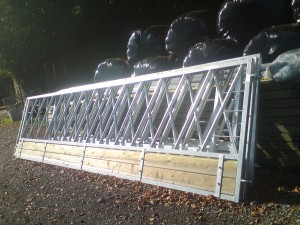 Cattle feed barriers 5