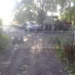 Decrotive horse yard gates