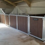 Stables - decrotive with recycled plastic T+G