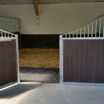 Stables - decrotive with recycled plastic T+G.